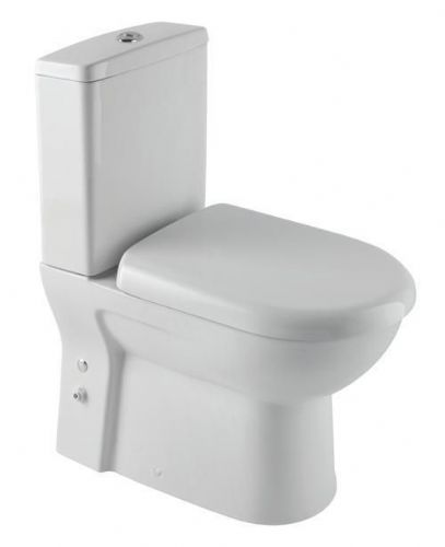 Eastbrook Lisbon Ii Back To Wall Close Coupled Toilet & Soft Close Toilet Seat